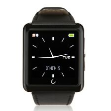 "1.54"" U10L Bluetooth4.0 Smart Sport  Wrist Watch Phone for Andriod iPhone Black"