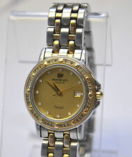 RAYMOND WEIL Tango #5360 Two-Tone 48 Diamonds Gold Dial  Women's Swiss Watch