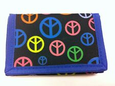 WHOLESALE JOB LOT 12 x BOYS BLUE PEACE RIPPER WALLET PURSE PARTY BAG FILLER