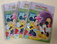 Wholesale Lot 3 Disney Mickey Mouse Paper Notebook Journal Diary Scrapbook Lined