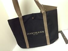 HARTMANN Unisex  Luggage Canvas Shoulder Handbag Shopping Travel Tote Bag NWT