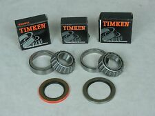 2 63-82 Corvette Timken Rear Wheel Bearing & Seal Bearing Kits & Setup Tool