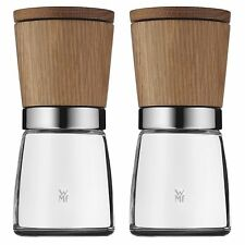 WMF Ceramill Nature Spice Herb Grinder Mill Set of 2, Also Salt and Pepper