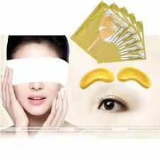1pc Golden Collagen Crystal Moisture Anti Wrinkle Cream Eye Mask Eyelid Patch