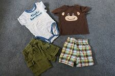 2 Sets of Baby Boy's Size 12M Summer Outfits - Carters, The Children's PLACE