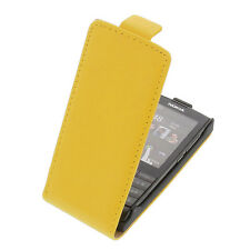 Case for Nokia X 3-02 FlipStyle cellphone bag protector cover Flip Case Yellow
