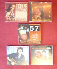 BRUCE SPRINGSTEEN CD Singles 57 Channels,Leap of Faith,Better Days,Secret Garden