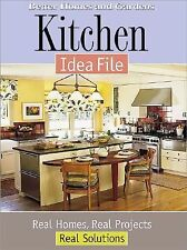 Kitchen Idea File Book Real Projects Better Homes And Gardens House Improvements