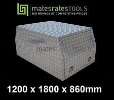 MINI CAB UTE TOOLBOX 1200*1800*860MM TOOL BOX /ALUMINIUM CANOPY