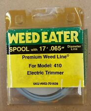 """WEED EATER SPOOL 17' X .065"""" DIAMETER LINE MODEL 410 ELECTRIC TRIMMER 952-701639"""