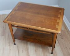 Lane Acclaim Side End Lamp Table Dove Tail Mid Century Modern
