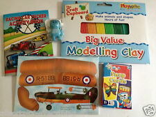 Modelling Clay Bi Plane Kit Snap Cards Activity Book Monkey Eraser Boys stocking