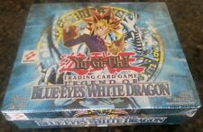 YUGIOH FIRST EDITION LEGEND OF BLUE EYES WHITE DRAGON ENGLISH BOOSTER BOX 1ST