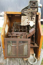 Rare Mills Novelty Company Chicago - Vending/Fruit Machine Wooden Frame/Spares