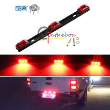 "14"" Red 3-Lamp Truck/Trailer ID LED Light Bar For Ford F150 F250 Dodge RAM, etc"