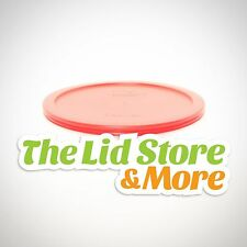 Pyrex Storage Plastic Red Lid - Replacement Cover For 6/7 Cup Bowl - 7402-PC