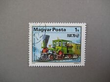 Vintage collectible stamp, Train, Hungarian stamp, MAGYAR POSTA, 1979