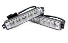 Universal 5 LED X-Treme High Power 15cm DRL Lights Auto Switch E4 & Rl00