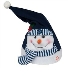 Dallas Cowboys - Animated Snowman Musical Stocking Hat