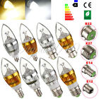 E27 E14 E12 B22 Dimmable 3W 6W 9W LED High Power Chandelier Candle Light Bulb