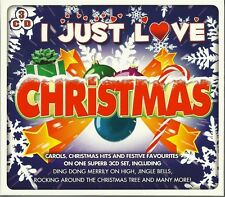 I JUST LOVE CHRISTMAS - 3 CD BOX SET - CAROLS, HITS & FESTIVE FAVOURITES