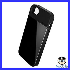 LUNATIK Flak - Dual Layer designer case - lightweight armour, iPhone 5/5s, BLACK