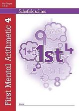 First Mental Arithmetic Book 4 (of 6): Key Stage 1/Key Stage 2 (Answer Book also