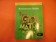 Go Math! Florida Assessment Guide Grade 1 (Common Core Edition)