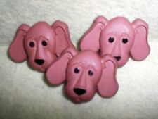 Cute Dog Face BIG EARED HOUND - Novelty Theme Buttons - Dress It Up - Sewing