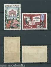 FRANCE - 1959 YT 1189 et 1190 - TIMBRES NEUFS** LUXE