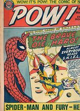 POW ! COMIC # 9 - SPIDERMAN, SHIELD, JACK MAGIC ( SCARCE - 1967 )