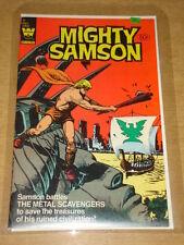 MIGHTY SAMSON #32 VF (8.0) WHITMAN COMICS APRIL 1982 RARE