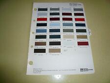 1985 Ford Mercury T-Bird R-M Color Chip Paint Sample - Vintage