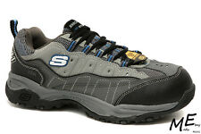 New Skechers Canyon - Hobby Steel Toe Hiking Work Men Boots Sz 8 - 76785