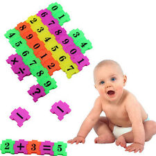 36Pcs Baby Child Number Symbol Puzzle Foam Maths Educational Toy Gift