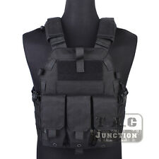Emerson Tactical Modular MOLLE LBT-6094K Panel Plate Carrier Vest w/ Mag Pouch
