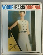 1960's Vintage VOGUE PARIS ORIGINAL Mod Dress  Pattern 1486 NINA RICCI Sz 14
