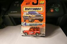 1999 rare Matchbox Mercedes-Benz G Wagon # 40 FIRST EDITION  Space Explorer moc