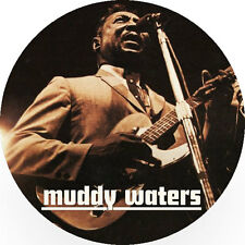CHAPA/BADGE MUDDY WATERS . pin button blues rolling stones robert johnson bb kin
