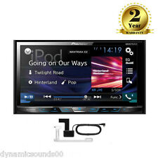 "Pioneer AVH-X5800DAB Car CD DVD 2DIN Bluetooth Stereo 7"" LCD DAB+ iPod + Aerial"