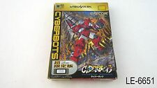 Limited Edition Cyberbots Fullmetal Madness Sega Saturn Japanese Import SS LE