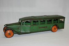 Rare Vintage Steelcraft Pressed Steel Inter City Passenegr Bus Original VG L@@K