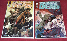 THE WALKING DEAD #100 Variant #1 Chicago Wizard Con LOT of 2 NEGAN High Grade