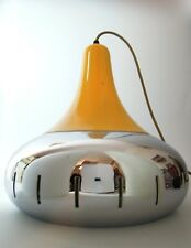 VINTAGE POP ART CEILLING LAMP CHROME EAMES RETRO MID CENTURY MODERN 50s 60s 70s