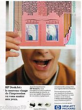 Publicité Advertising 1993 Imprimante HP Deskjet Hewlett Packard