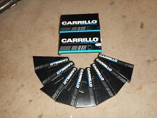 Nice set of carrillo  8 rods 708 pin 6.200 honda lentz crower pankl 1.850 nascar