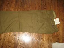 WOOL,CARGO PANT,NEW OLD STOCK, 1953,AUSTRAILIAN, 31-36