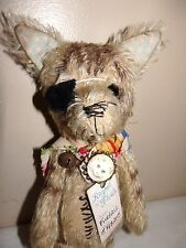 Furball Cat by Ragtail N Tickle Teddy Bear Artist Charlotte Bird OOAK