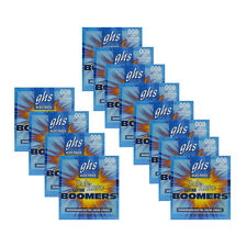12-Pack GHS CR-GBXL Sub Zero Boomers Extra Light Electric Guitar Strings (9-42)