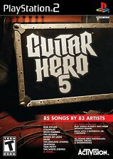 NEW & SEALED PS2 Guitar Hero 5 Game PlayStation 2